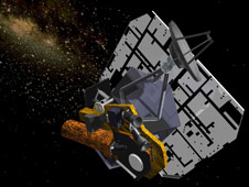 artist concept of Deep Impact - now called EPOXI) and the impactor