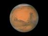Hubble image of Mars taken in December 2007