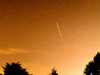 Picture of meteor shower
