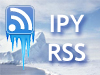Iceberg image superimposed with IPY RSS logo
