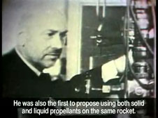 the father of modern rocketry