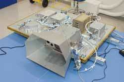 MOFFETT FIELD, Calif. - Cameras and sensors that will look for the presence of water on the moon have completed validation tests and been shipped to the manufacturer of NASA's Lunar Crater Observation and Sensing Satellite.