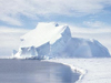 Photo of an antarctic iceberg