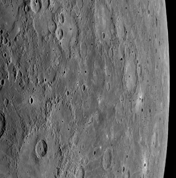 Another view of Mercury by Messenger