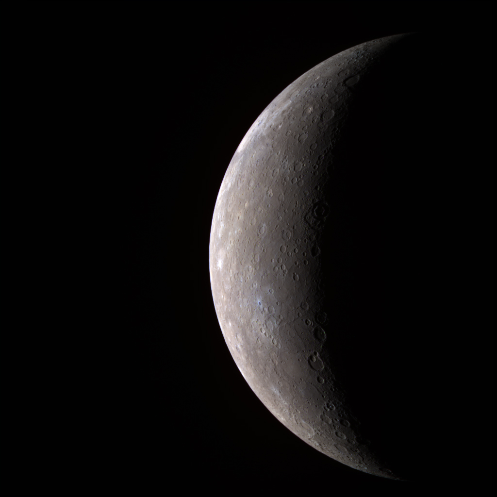NASA - Mercury -- In Color!!