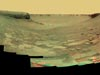 NASA's Mars Exploration Rover Opportunity examined rocks inside an alcove called 'Duck Bay'