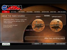 Drive the Mars Rovers