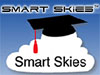 Smart Skies above a cloud with a graduation cap
