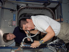 iss016e019457 -- Expedition 16 Flight Engineer Dan Tani