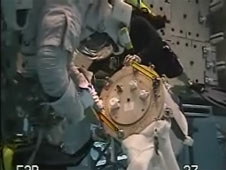 Spacewalk Training at the Neutral Buoyancy Laboratory