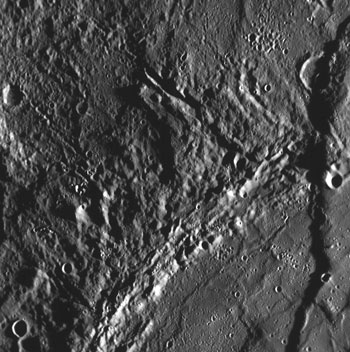The long cliffs of Mercury.