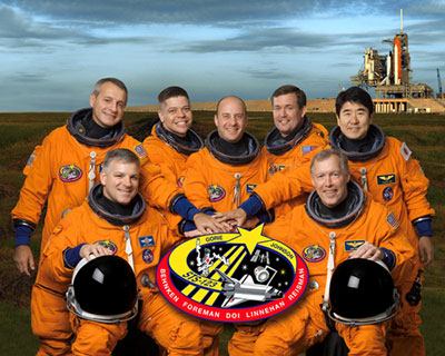 STS123-S-002: STS-123 crew