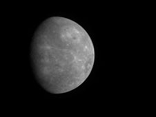 MESSENGER departing Mercury