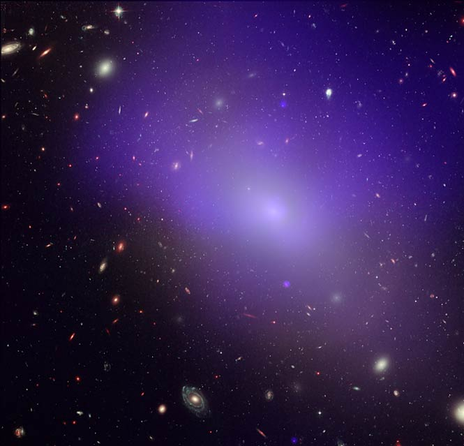 Elliptical galaxy NGC 1132 and its surrounding region