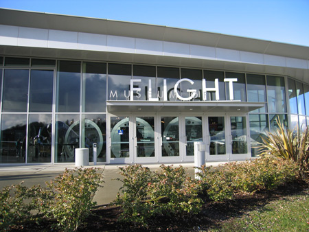 Entrance to the Museum of Flight in Seattle, WA.