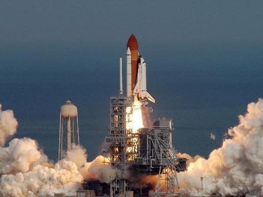 Mission STS-122 Begins