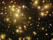 NASA�s Hubble and Spitzer space telescopeshave uncovered what may be one of the youngest and brightest galaxies ever seen.