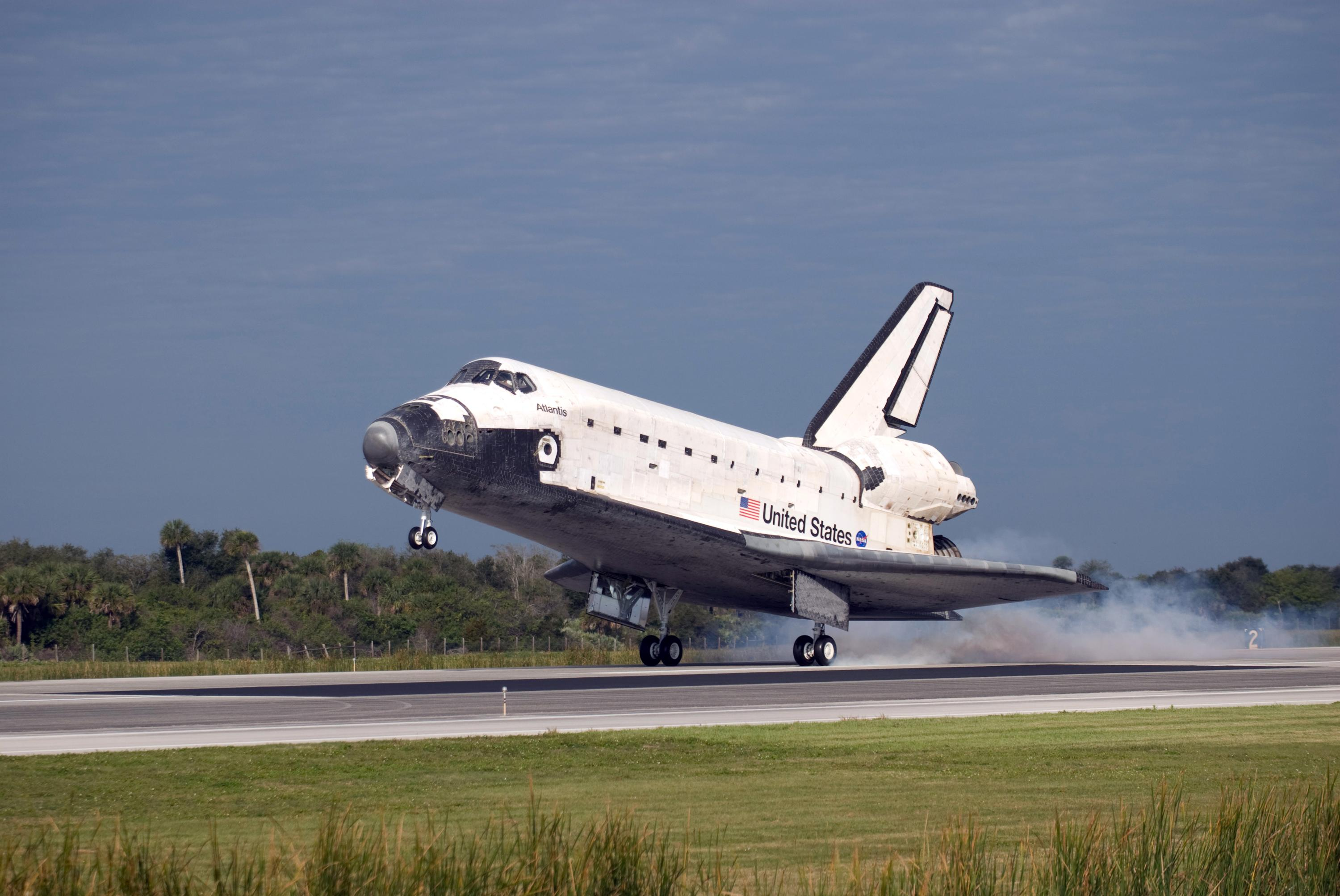 Image result for sts-122 landing