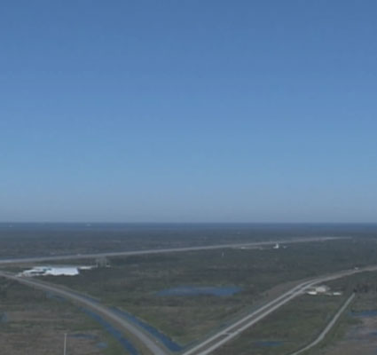 The Shuttle Landing Facility at Kennedy Space Center