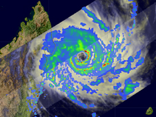TRMM image of Tropical Cyclone Ivan