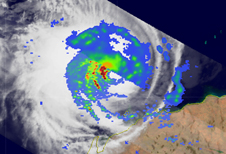 TRMM image of Tropical Cyclone Nicholas