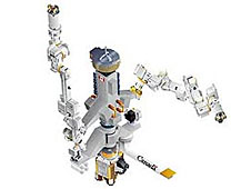 Detailed image of Dextre robotic hand