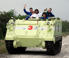 M-113 armored personnel carrier driving training