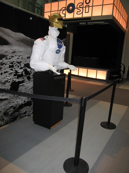 NASA Robonaut Exhibit.