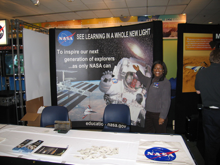 NASA Education Exhibit.