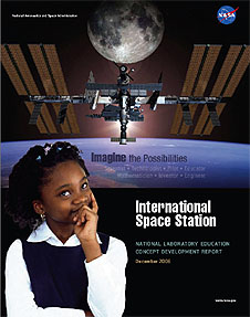 The cover page of the International Space Station Concept Development Report