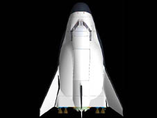 SpaceDev Dream Chaser Topview