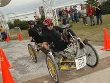 Huntsville Center for Technology wins high school division of NASA's 14th annual Great Moonbuggy Race.
