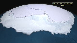 Antarctic sea ice 2005