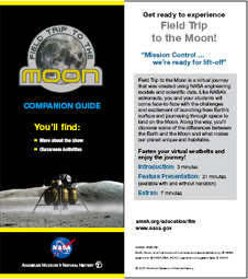 The cover page of the Field Trip to the Moon Companion Guide