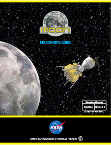 The cover page of the Field Trip to the Moon Educator Guide