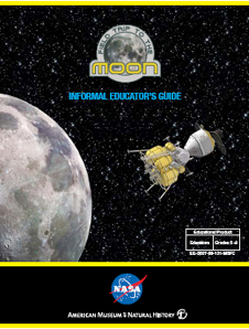 The cover page of the Field Trip to the Moon Informal Educator Guide