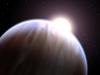 Artist concept of an exoplanet