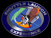 Artist's concept of the shuttle launch experience.
