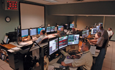 The Flight Operations Team at NASA's Goddard Space Flight Center monitor the Hubble Space Telescope around the clock.