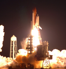 Space shuttle Endeavour launches on mission STS-123