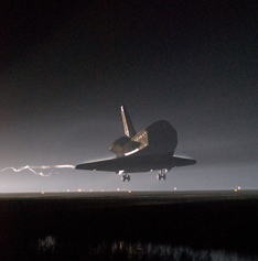 Space shuttle Endeavour lands concluding mission STS-123