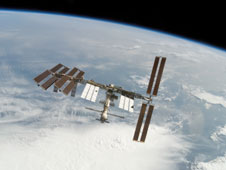S122-E-010939 -- The International Space Station