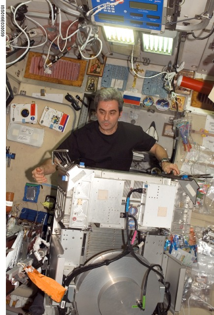 ISS016-E-030559 -- European Space Agency (ESA) astronaut Leopold Eyharts