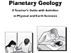 The front of the Planetary Geology Teacher's Guide