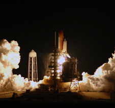 Launch of Endeavour on the STS-123 mission