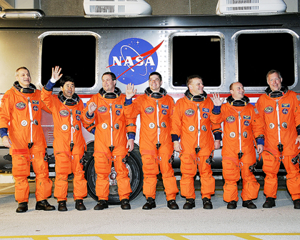 STS123-S-007 -- STS-123 crew
