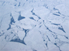 Photograph of ice as seen from NASA's DC8 aircraft