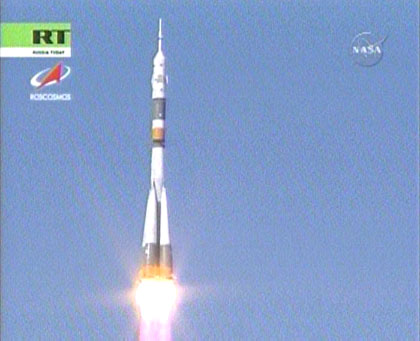 Launch of Expedition 17