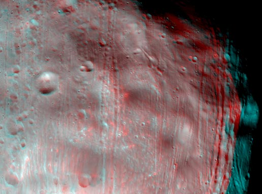 Mar's moon, Phobos