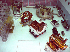 Photo of Goddard's clean room
